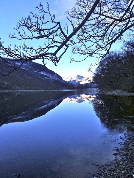 A reflective Buttermere and Low Fell